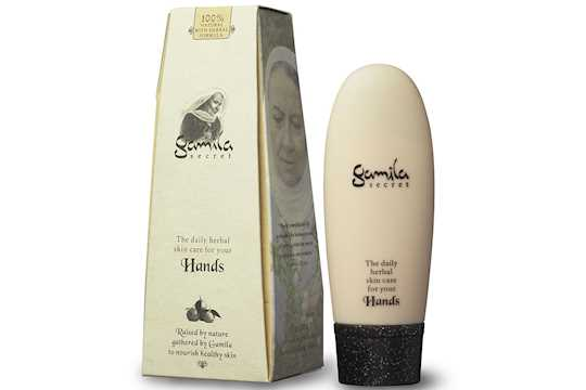 gamila secret hand cream