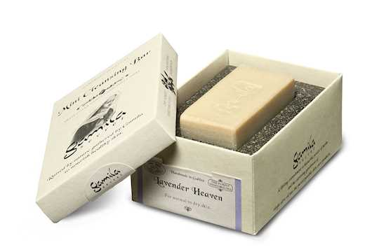 gamila secret lavender mini soap