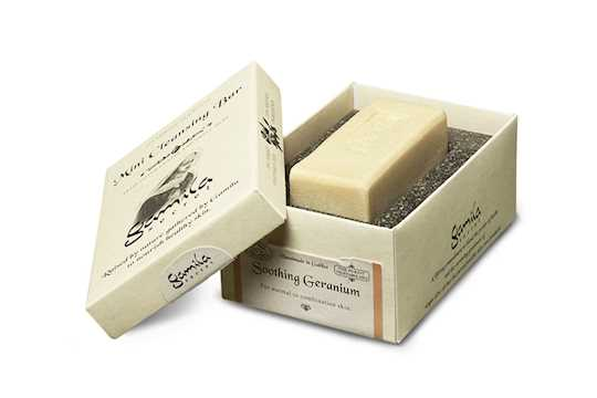gamila secret geranium mini soap