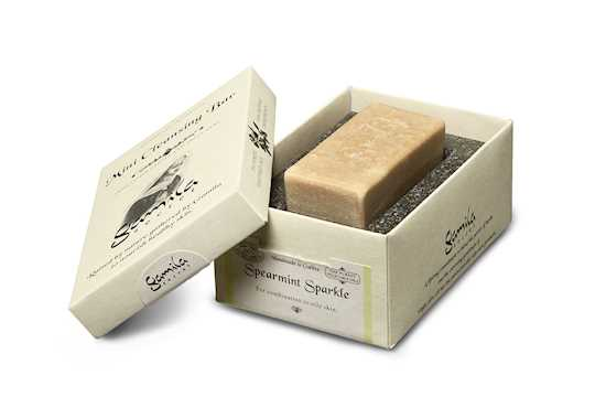gamila mini spearmint soap